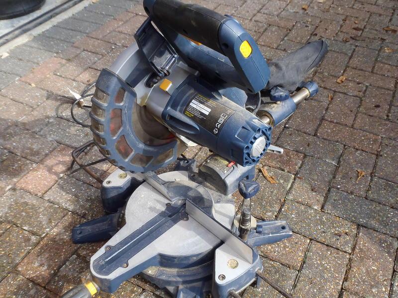 Sold Mac Allister Slide Mitre Saw