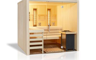 Sauna Panorama COMPLETE – en Stock !