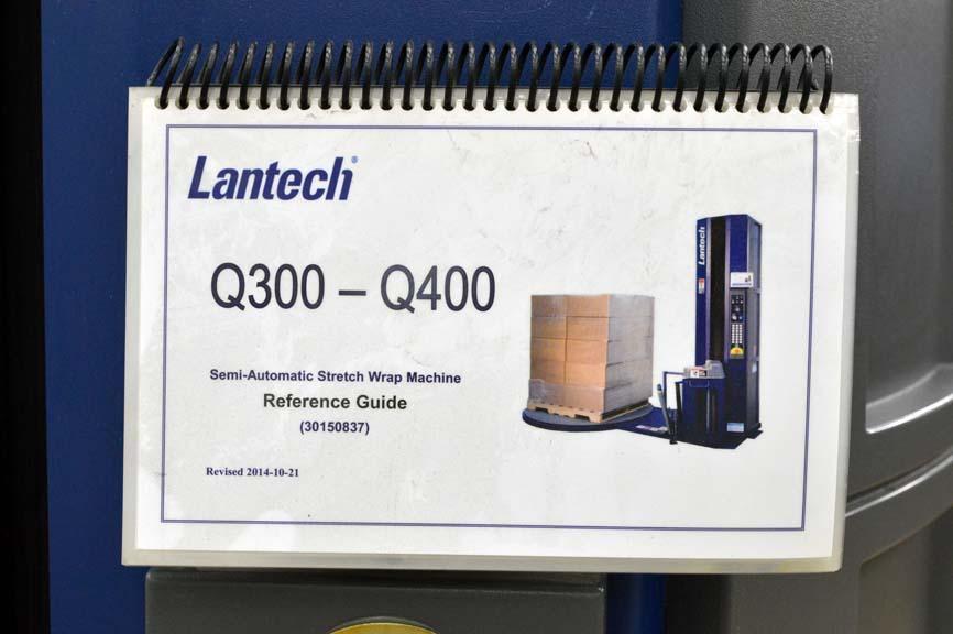 Lot 59 Lantech Q 300 Semi Automatic Pallet Wrapper