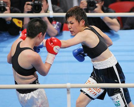 Etsuko Tada New WBA Female Champion