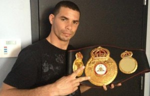 Richard Abril still Lightweight Interim Champion