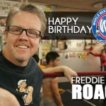 Freddie Roach is celebrating his birthday