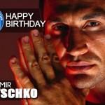 Congratulations Wladimir Klitschko