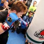 Saul Canelo Alvarez I do not train for a good show but to win