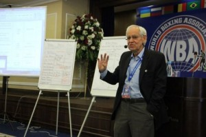 Gilberto Mendoza - WBA President