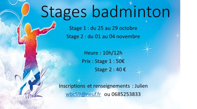 stages badminton