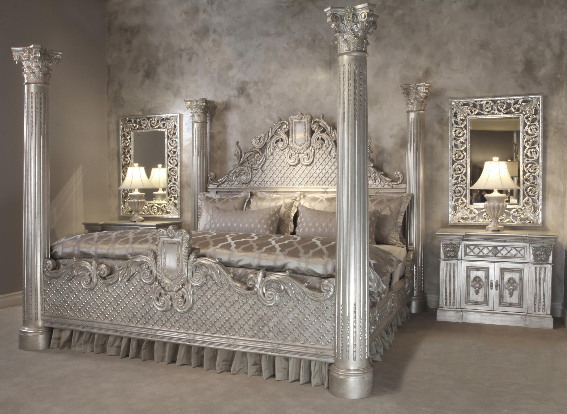 Grand Venetian King Bedroom Set