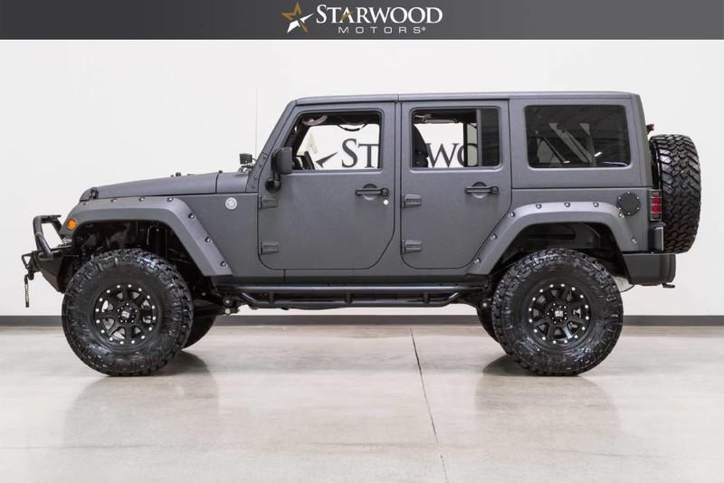 Custom Jeep Unlimited Hardtop