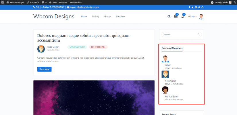 BuddyPress Featured Members Plugin Review