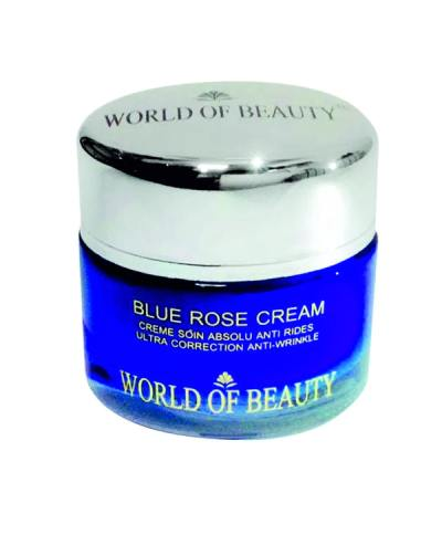blue rose cream