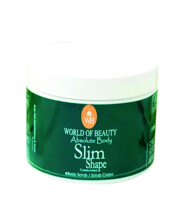 slim shape body scrub
