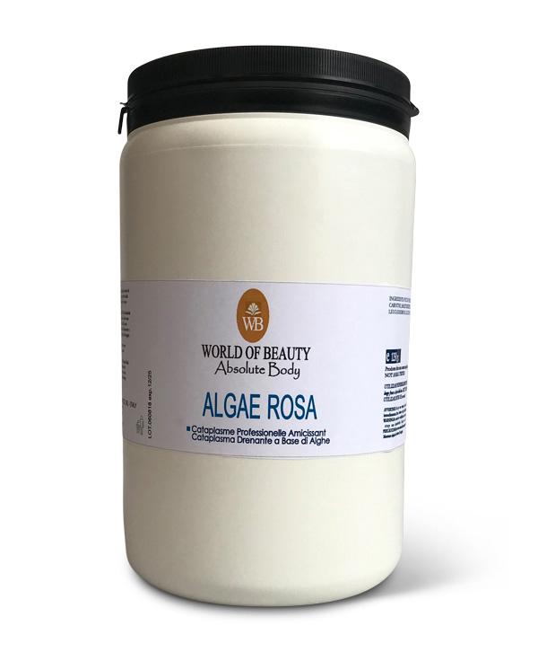 spa alga algae rosa powder wraps