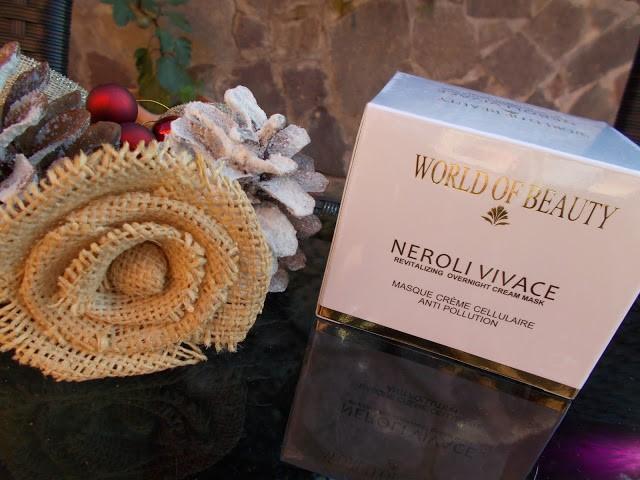 World Of Beauty - Neroli Vivace Overnight mask