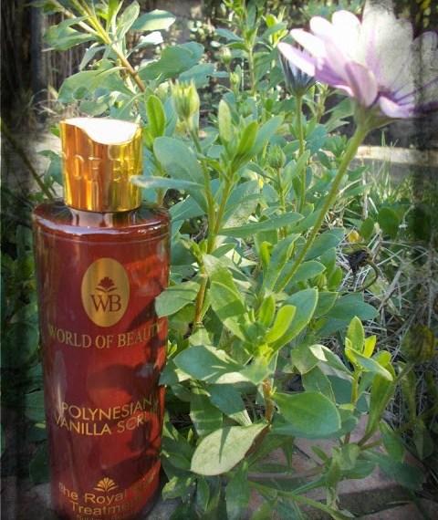 World Of Beauty - Polynesian Vanilla scrub