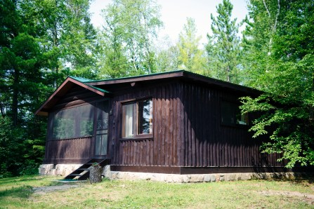 Cabin One: Exterior