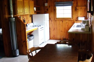Cabin Six: Kitchen