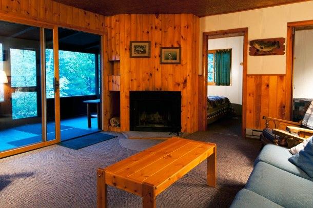 Cabin Seven: Fireplace