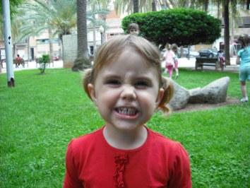 Carantoña de Carla, cumple de Pau, parque de Silla 2009