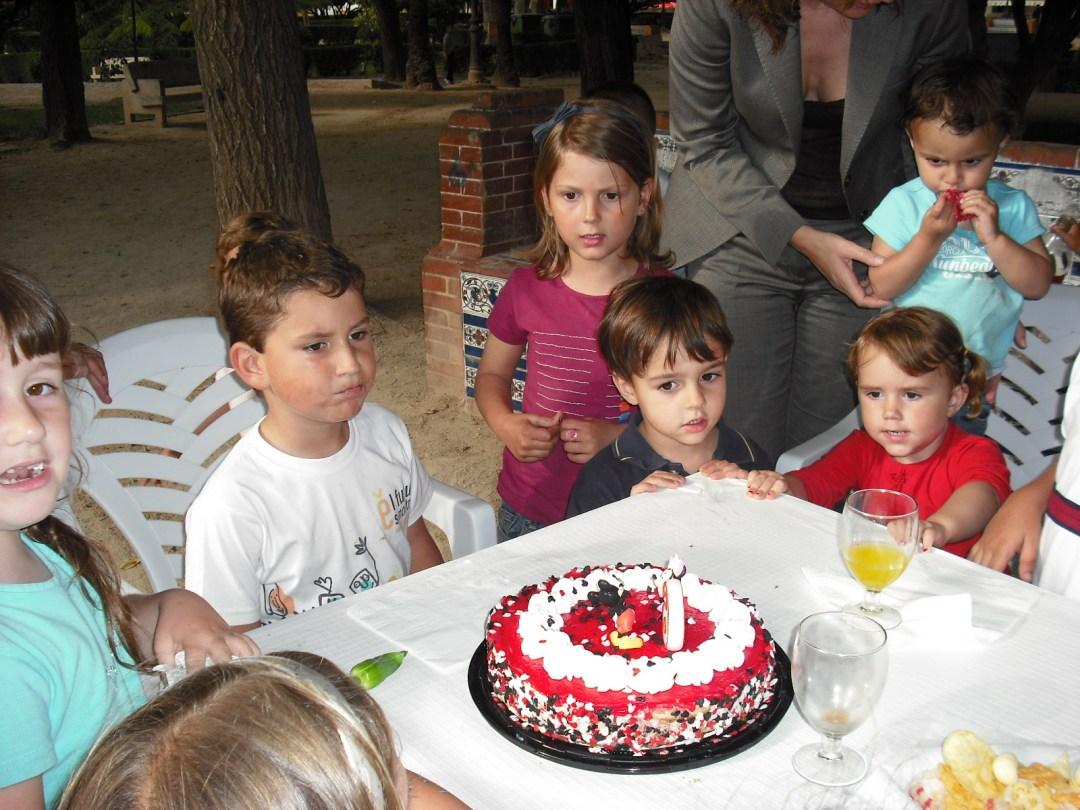 Sexto cumpleaños de Pau, año 2009.