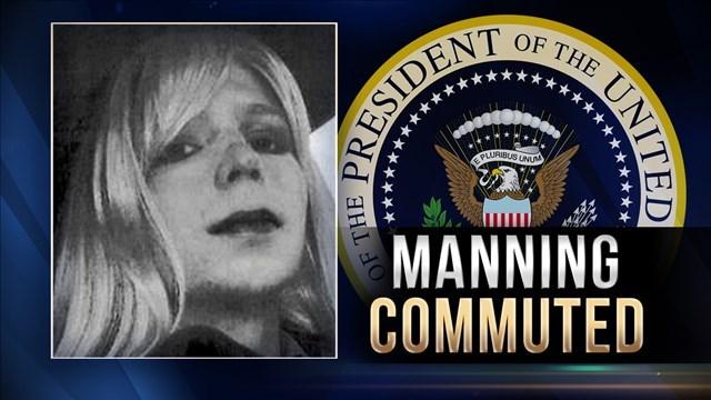Image result for Chelsea Manning and President Barack Obama