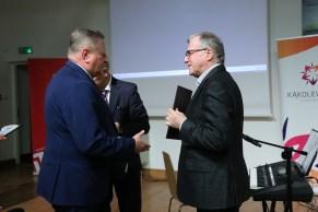 Głos zabrał prof. dr hab. Janusz Golec – bratanek Ireny Golec