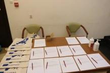 Spotkanie odbywało się w zachowaniu zasad reżimu sanitarnego