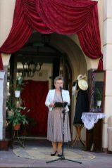 Spotkanie prowadziła Ewa Hadrian