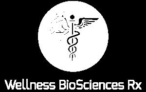 Wellness BioSciences Rx White Logo