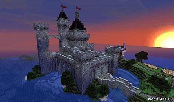 Замок Майнкрафт Фото