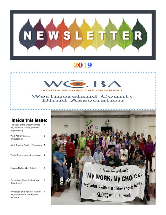 decorative photo with link to WCBA summer newsletter