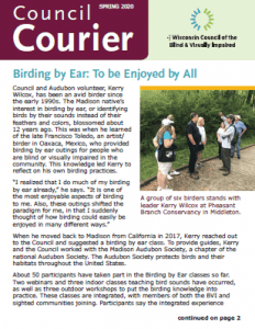 Thumbnail of Council Courier Spring 2020
