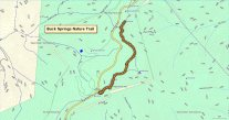 Buck Springs Nature Trail Map