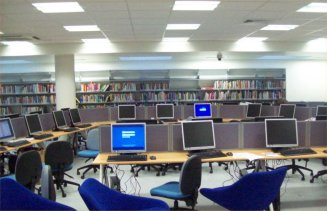 Computers at Pimlico Library - gradually getting sorted