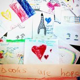 Children of the French Club respond to the Paris terror attacks of 13 November 2015