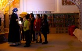 Meeting 'Florrie Armstrong' - Queen's Park Library sleepover, December 2015