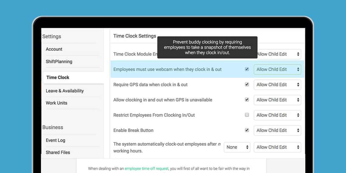 Image Result For Employee Scheduling And Time Clock Software