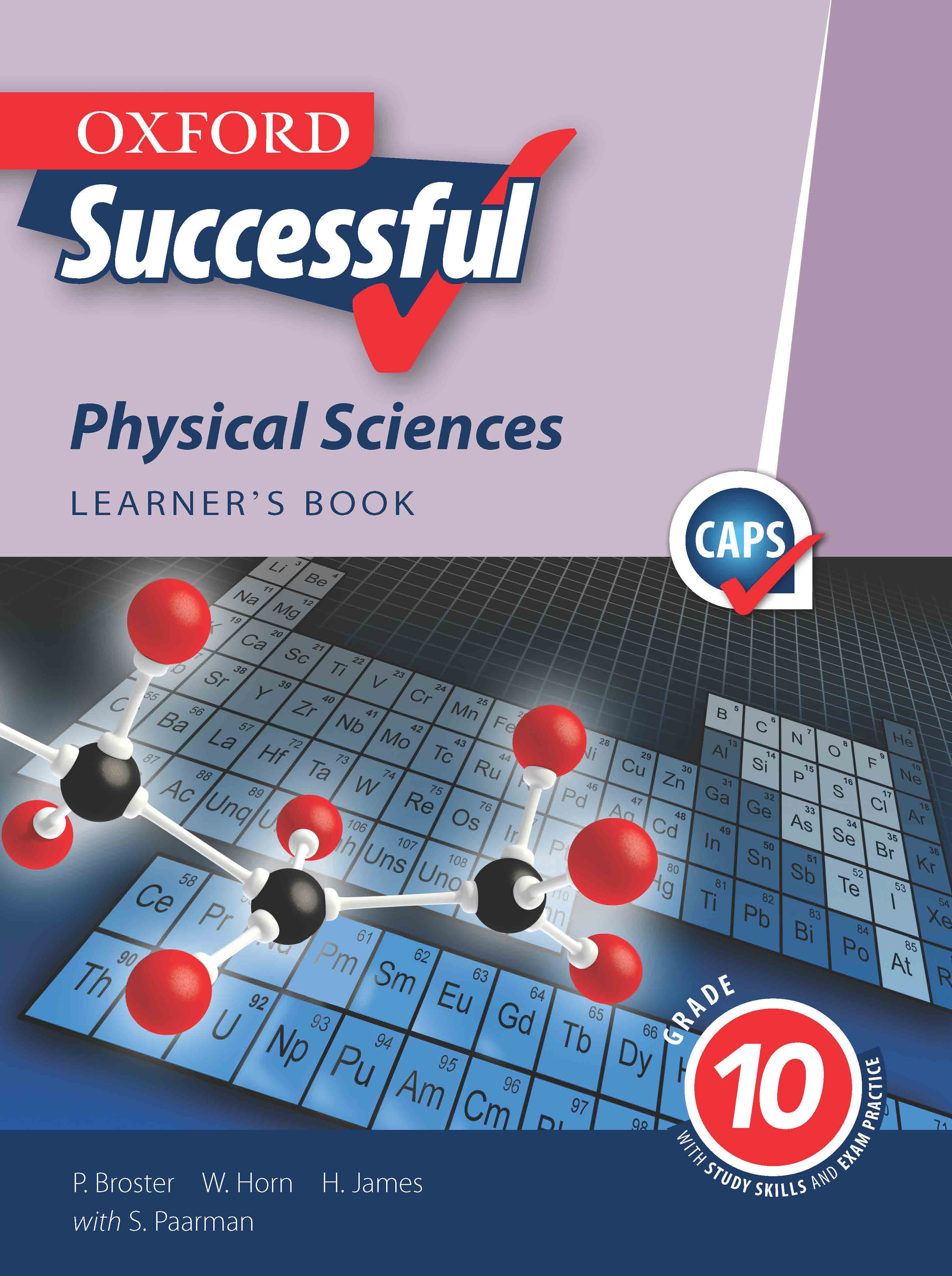 Oxford Successful Physical Sciences Grade 10 Learner S