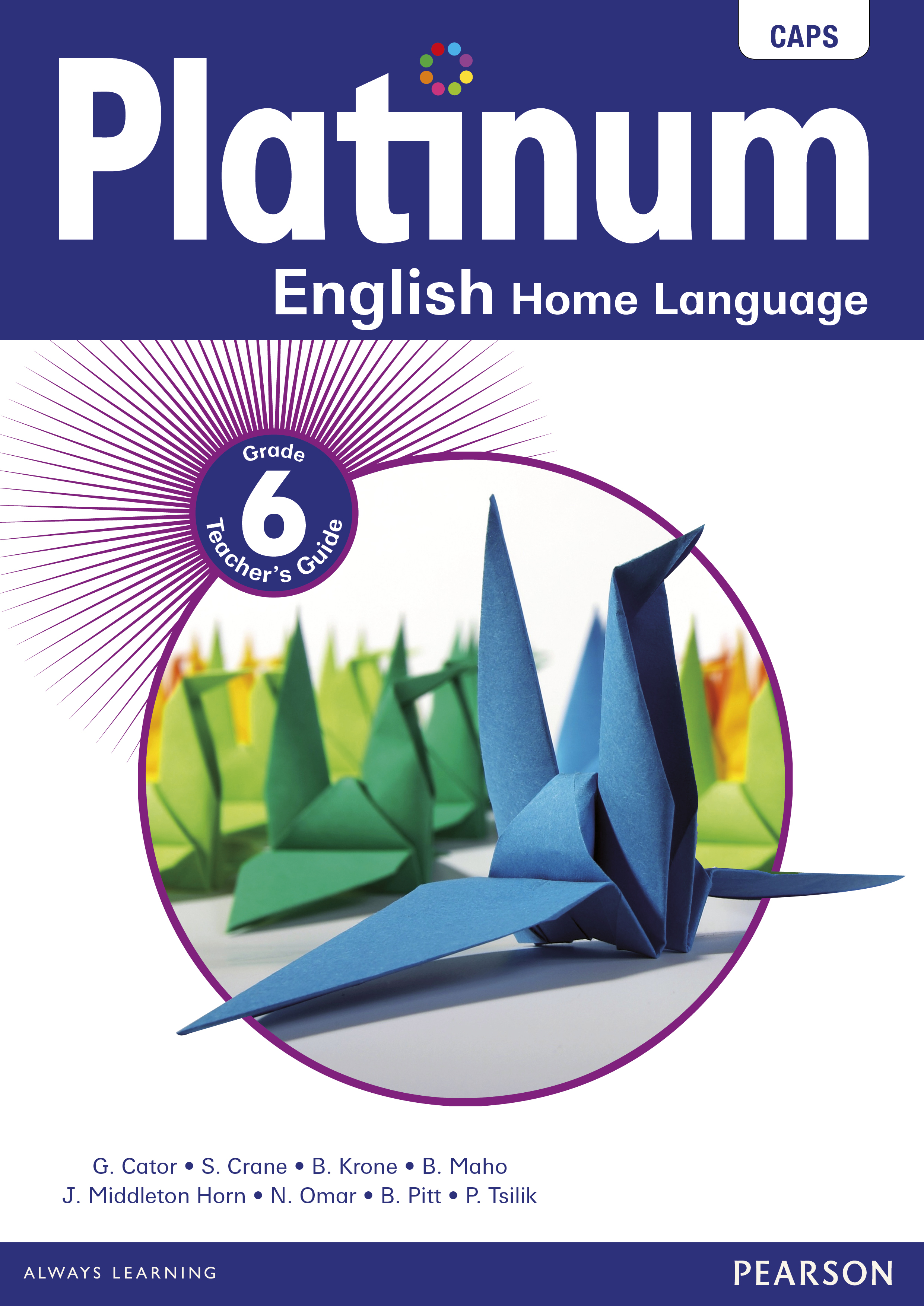 Platinum English Home Language Grade 6 Teacher S Guide E 1 Year Licence