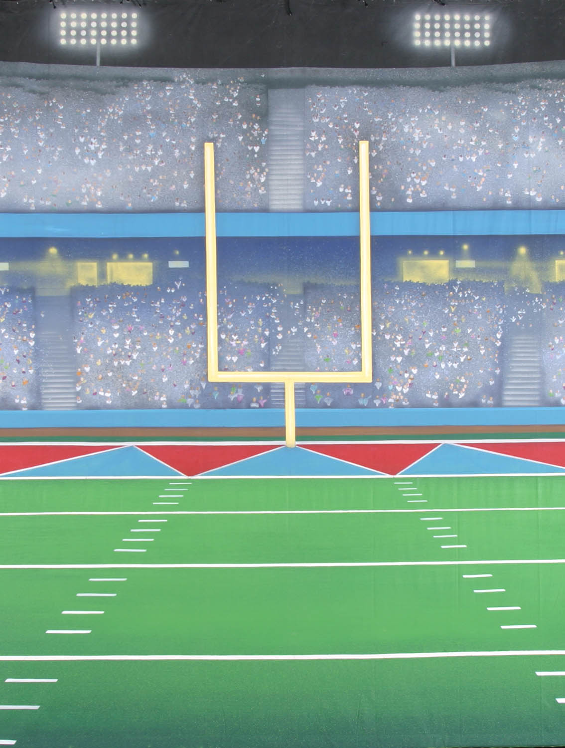 Football Stadium Backdrop West Coast Event Productions Inc