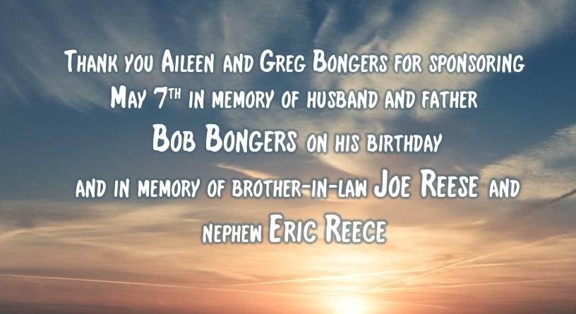 Remembering Bob Bongers, Joe Reece and Eric Reece