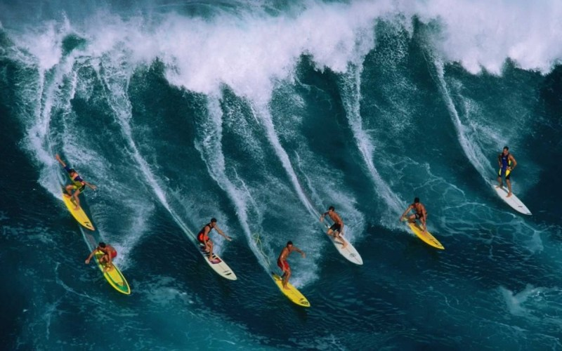 Onda - Surf - Amigos - Surf Trip
