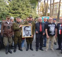Mielczanie na uroczystościach 41. rocznicy śmierci płk Franciszka Przysiężniaka [FOTO,VIDEO]