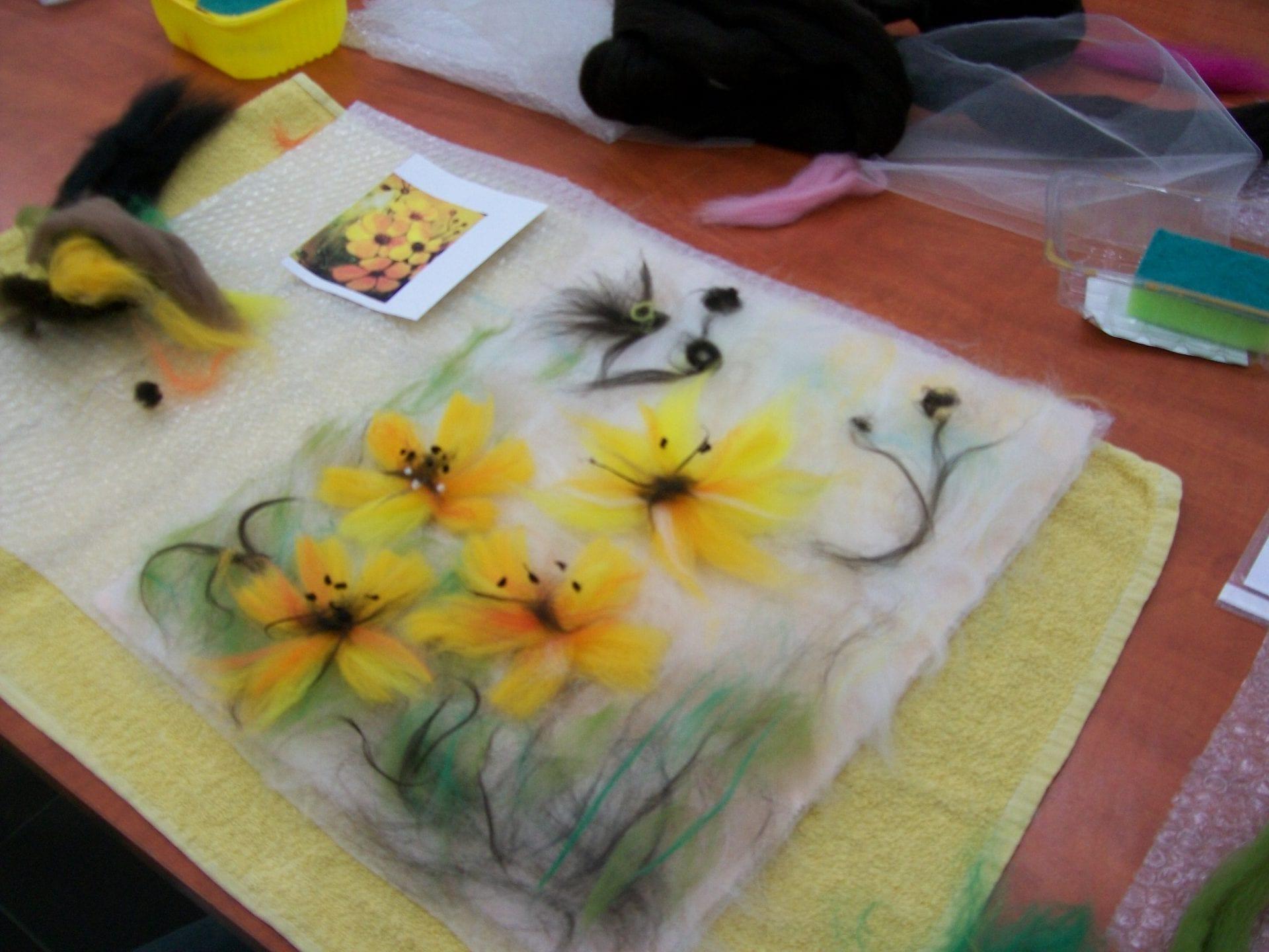 SDK – malować można również wełną czesankową…[FOTO]