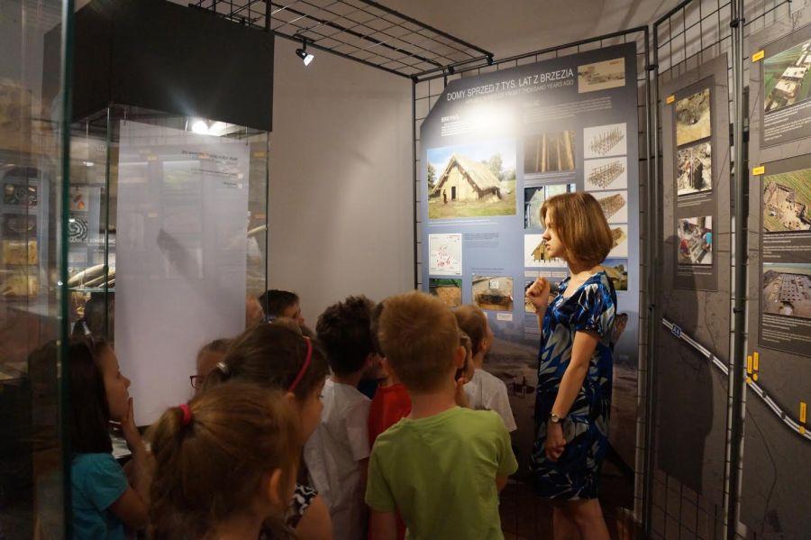 Czasowa wystawa archeologiczna opuszcza Pałacyk Oborskich