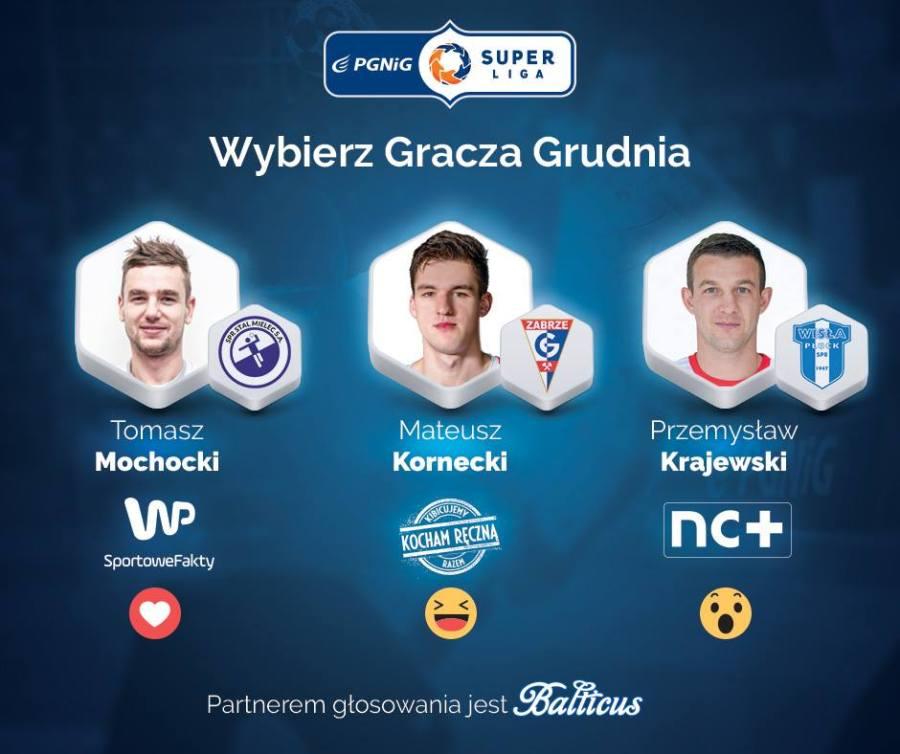Tomasz Mochocki z szansą na tytuł gracza grudnia