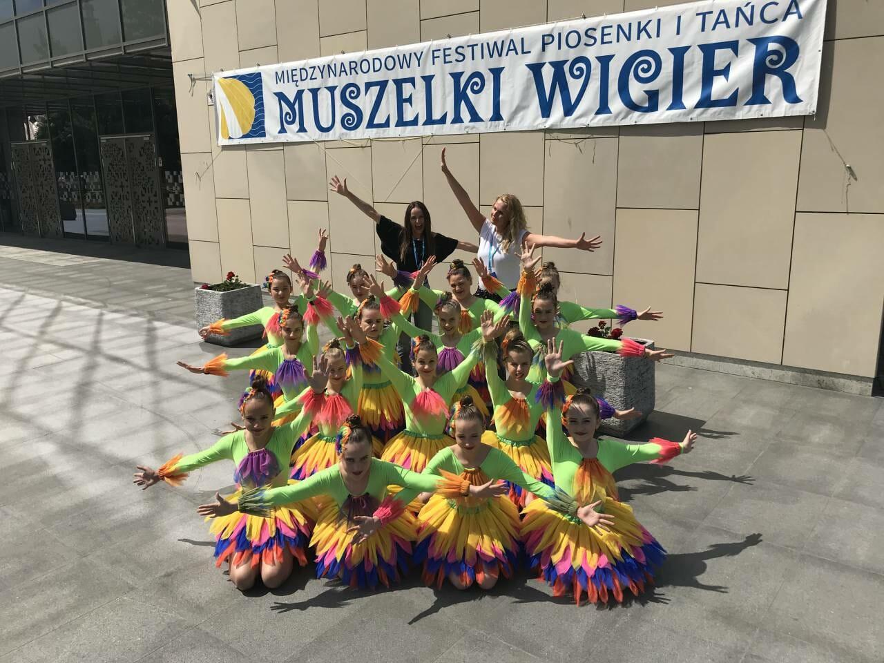 Sukces zespołu tanecznego Mini Max Show w Suwałkach [FOTO]