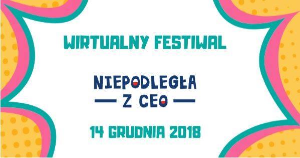 Wirtualny Festiwal Niepodległa z CEO w Elektryku
