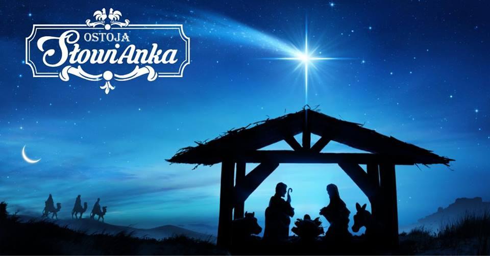 Żywa Szopka Bożonarodzeniowa w Ostoi Słowianka [FOTO]
