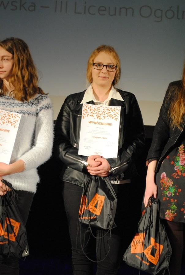 Nagroda w ogólnopolskim konkursie literackim
