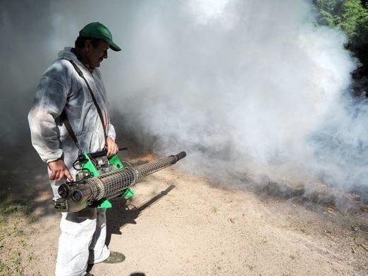 Lista miejsc objętych opryskiem przeciw komarom